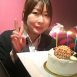 あやさんのお誕生日でした!