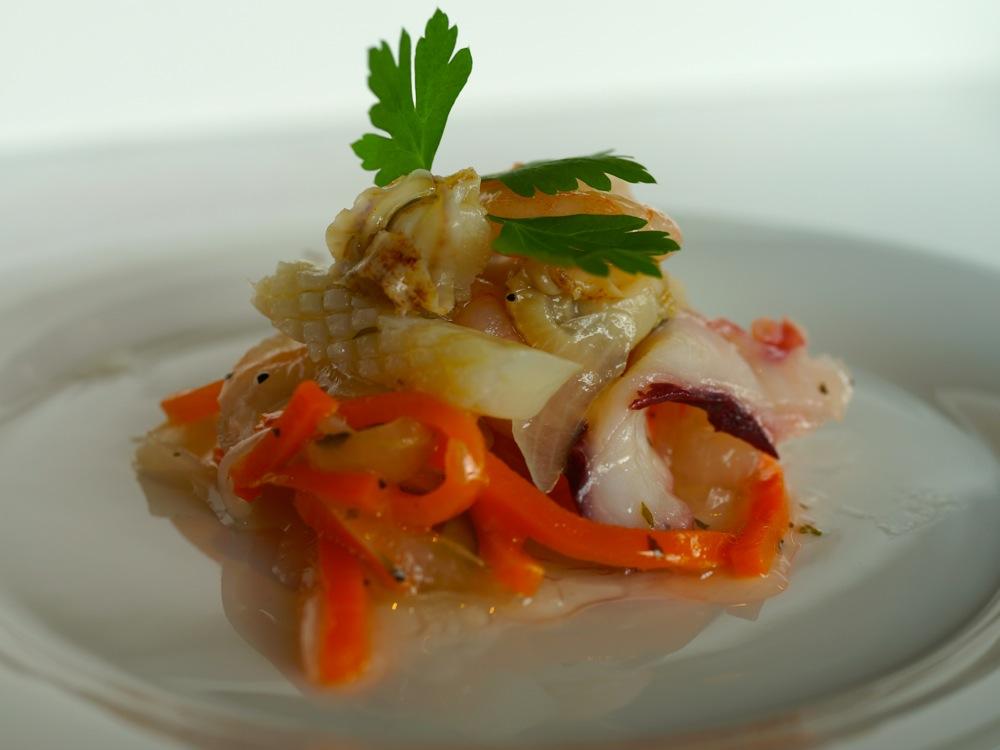 魚貝のイタリアンマリネ