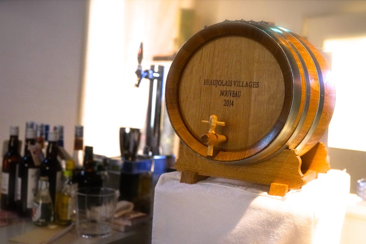 1日1組限定!樽詰赤ワイン