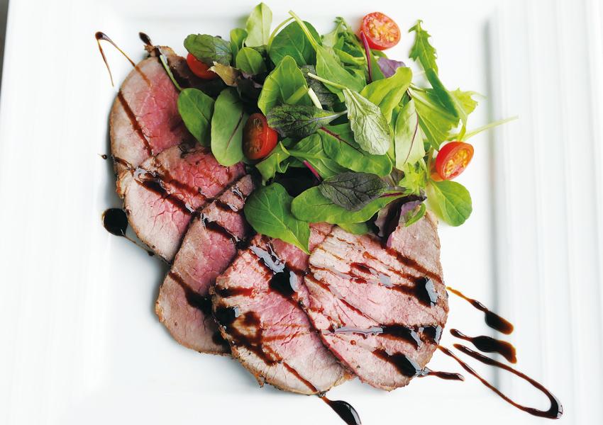 熟成肉のタリアータ